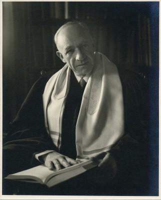 Rabbi Morris Lazaron, n.d. Gift of David Weinberg, JMM 1988.012.036