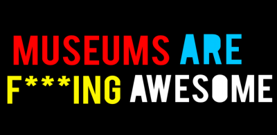 The Museum Hack motto takes no prisoners and its bright colors are pretty indicative of the exciting and invigorating experience JMMers were about to have.