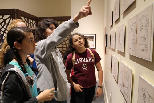 Students explore Discovery and Recovery: Preserving Iraqi Jewish Heritage