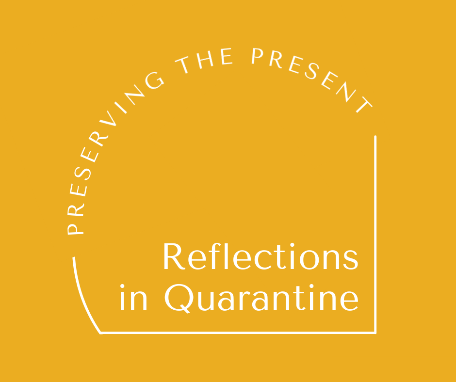 Reflections in Quarantine logo