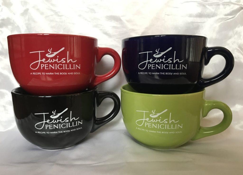 Jewish Penicillin Mugs
