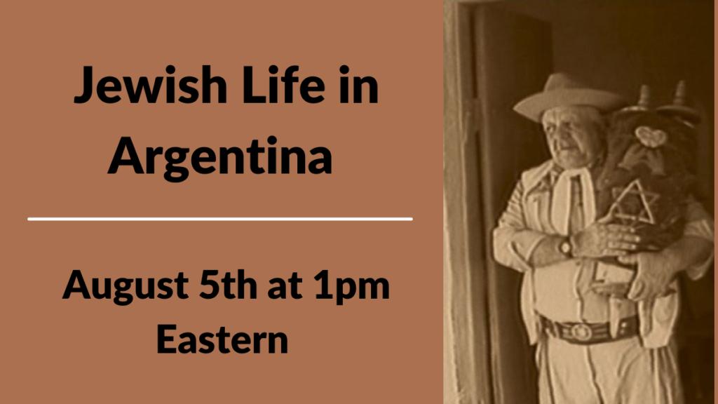 Jewish Life in Argentina