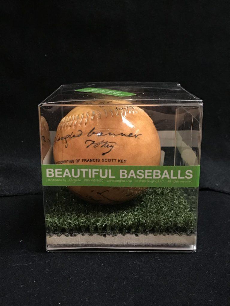Star Spangled Banner baseball